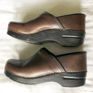 Brown Dansko Clogs size 38